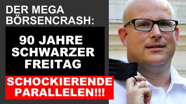 Daniel Sauer: 90 Jahre Schwarzer Freitag Börsencrash
